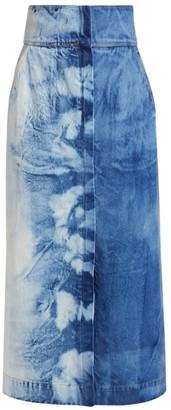 Sea Doris Denim Maxi Skirt