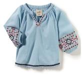 Infant Girl's Peek Jasmine Embroidered Top