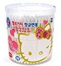 Hello Kitty Antibacterial Cotton Swabs(200Pcs) White