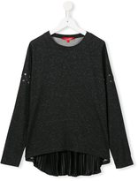 Loredana - metallic threaded top - kids - Lyocell/Viscose/Metallized Polyester - 10 yrs