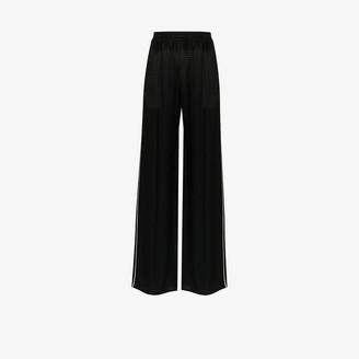 Balenciaga Shiny Houndstooth Track Pants