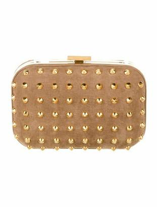 Gucci Broadway Studded Mini Clutch gold
