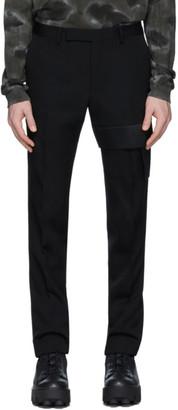 Alyx Black Wool Suit Trousers
