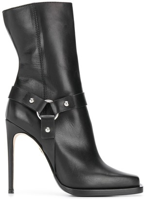 DSQUARED2 High-Heeled Biker Boots