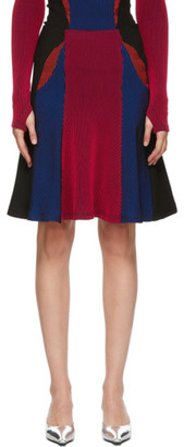 Paolina Russo SSENSE Exclusive Multicolor Knitted Battle Skirt