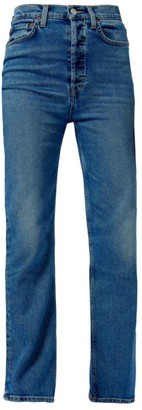 RE/DONE 70s Ultra High-Rise Straight-Leg Jeans