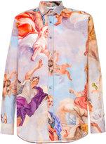 Moschino Renaissance print shirt