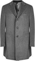 Corneliani Grey Cashmere Coat