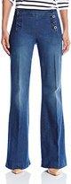 NYDJ Women's Petite Claire Sailor Trouser Jean