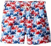 Mud Pie Crab Swim Trunks Boy's Swimwear