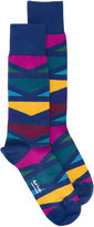Paul Smith colour block socks