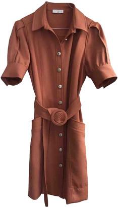 Sandro Spring Summer 2020 Orange Synthetic Dresses