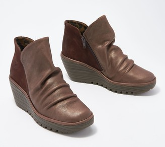 Fly London Leather Ankle Boots - Yip