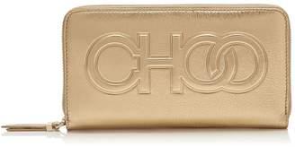 Jimmy Choo Metallic Leather Bettina Wallet