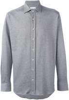Etro micro houndstooth shirt