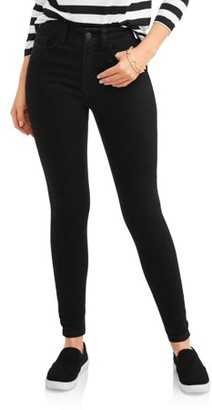Time and Tru Women's Core High Rise Skinny Jean