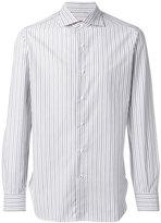 Isaia striped shirt