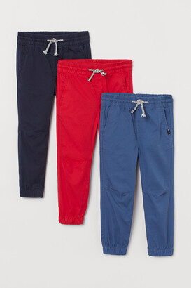 H&M 3-pack Pull-on Pants