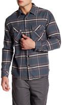 Quiksilver Long Sleeve Plaid Regular Fit Shirt