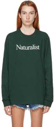 Museum of Peace and Quiet Green Naturalist Long Sleeve T-Shirt