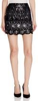 Romeo & Juliet Couture Romeo + Juliet Couture Beaded Mini Skirt