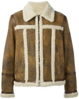 Neil Barrett 'Ovis Aries' jacket - men - Lamb Skin/Lamb Fur - M