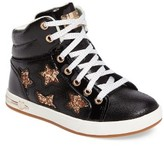 Skechers Girl's Shoutouts Embellished High Top Sneaker