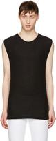 Alexander Wang Black Sleeveless T-shirt