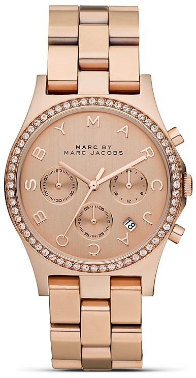 Marc by Marc Jacobs Henry Bolt Glitz Chronograph, 40mm
