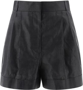 Alexander McQueen High Waisted Shorts