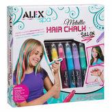 Alex Spa Metallic Hair Chalk Salon Beauty Toy