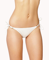 Forever 21 Crocheted Side-Tie Bikini Bottoms
