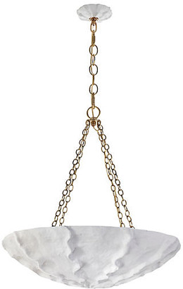 AERIN Benit Medium Pendant - Plaster White