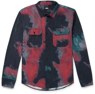 Stussy Tie-Dyed Cotton Shirt