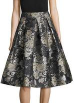 Eliza J Floral Printed A-Line Skirt