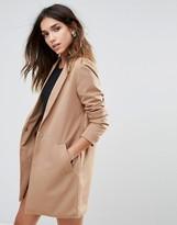 Brave Soul Longline Blazer Style Coat