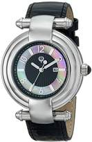 Brillier Women's 31-01 Klassique Analog Display Quartz Black Watch