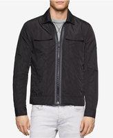 Calvin Klein Jeans Men's Zip-Front Trucker Jacket