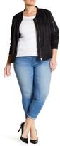 Jessica Simpson Forever Rolled Skinny Denim Jean (Plus Size)