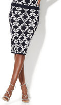 New York & Co. 7th Avenue - Jacquard Sweater Skirt