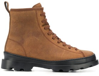 Camper Brutus lace-up ankle boots