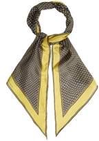 Bottega Veneta Polka-dot print silk scarf