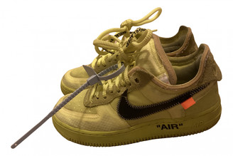 Nike x Off-White Yellow Cloth Trainers