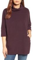 Women's Caslon Zip Back Pullover