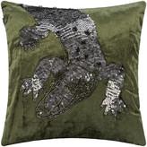 A By Amara A by AMARA - Velvet Animal Cushion - Crocodile - 40x40cm