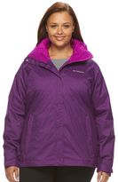 Columbia Plus Size Outer West Hooded 3-in-1 Systems Jacket