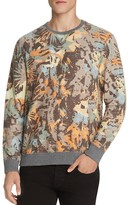 Sol Angeles Camo and Floral Print Sweatshirt
