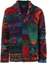 Polo Ralph Lauren toggle detail cardi-coat