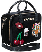 Betsey Johnson Tigers And Cherries And Lips Oh My Lunch Tote
