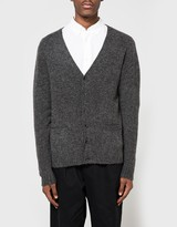 Beams B+Stretch Knit Cardigan